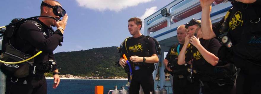 PADI Course In Thailand
