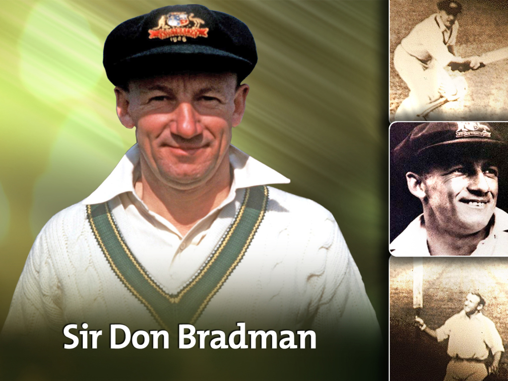 "Sir Donald ""The Don"" Bradman, AC"